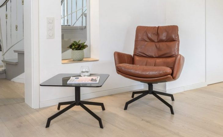 ARVA lounge chair & table by KFF Design